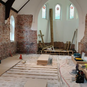 Repairs to Wood St Church